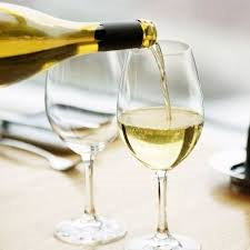 White wine at Cunninghams of Kildare
